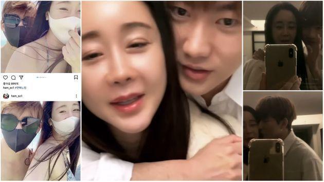 함소원-진화 부부가 '파오차이' 논란과 이혼설 직후 올린 부산여행