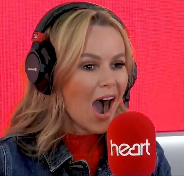 Amanda Holden Left Mortified Live On Air After Snoring Stitch Up