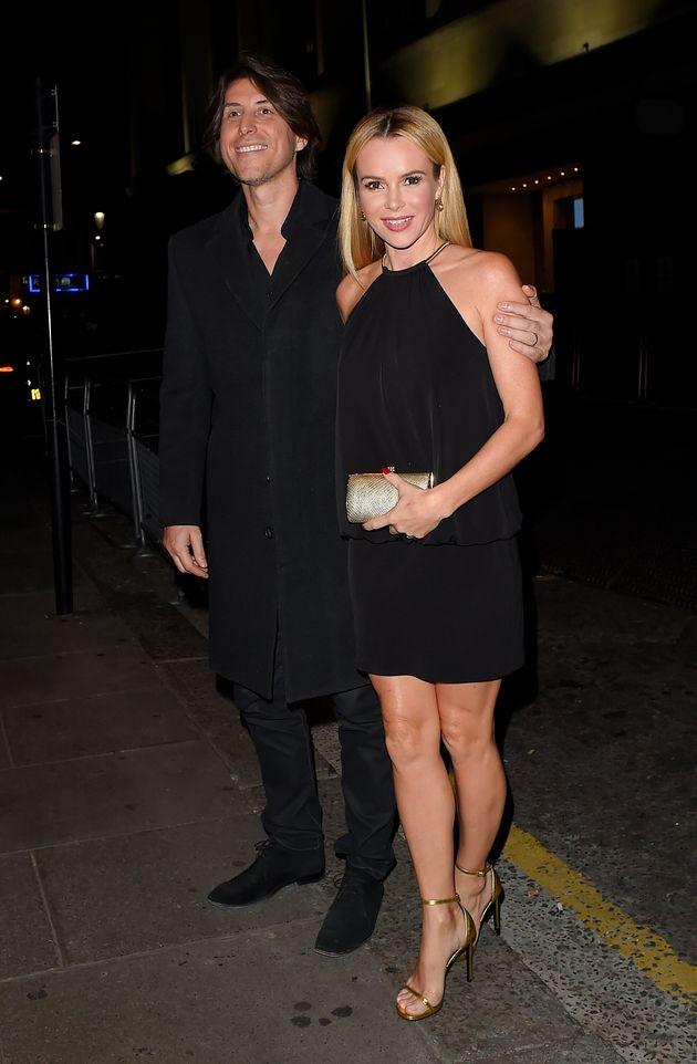 Amanda with husband Chris