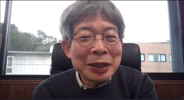 講師を務めた劇作家の平田オリザさん