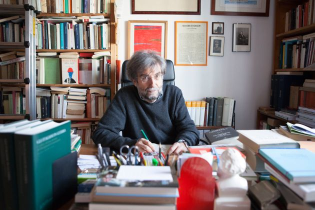 Ernesto Galli Della Loggia, Italian historian and writer, Milan, Italy (Photo by Leonardo Cendamo/Getty
