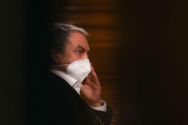 Zapatero, durante un acto en
