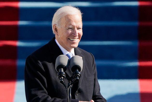Le discours de Joe Biden au Congrès ne ressemblera à aucun autre (photo de Joe Biden lors de son investiture...