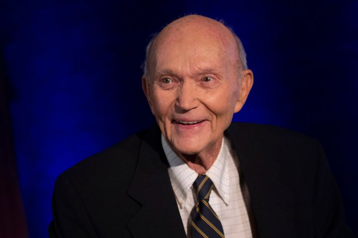 Apollo 11 astronaut Michael Collins died Wednesday of cancer,. He was 90.