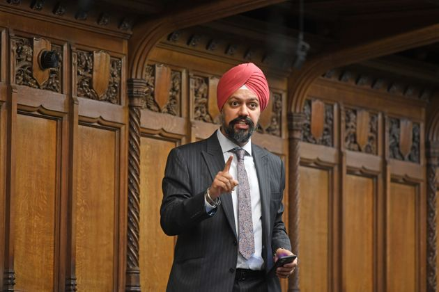 Labour MP Tan Dhesi in the