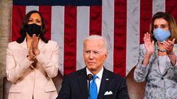 Face au Congrès, Biden salue une Amérique retrouvée et vante ses