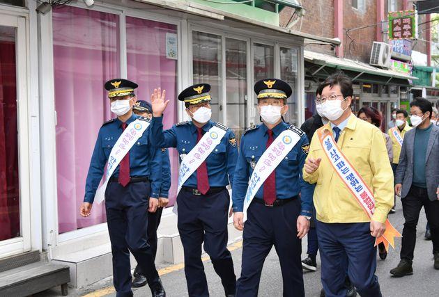 염태영 시장과 김원준