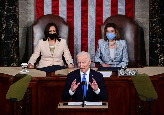 Ιστορική ομιλία Μπάιντεν στο Κογκρέσο (και όχι για αυτά που