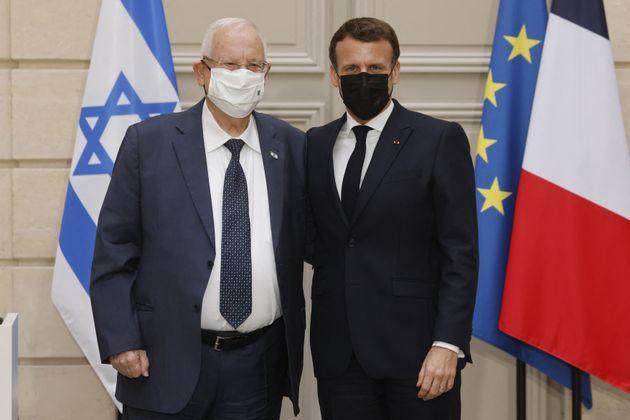 Après l'affaire Halimi, le président israélien Reuven Rivlin a écrit à Emmanuel Macron pour lui témoigner...