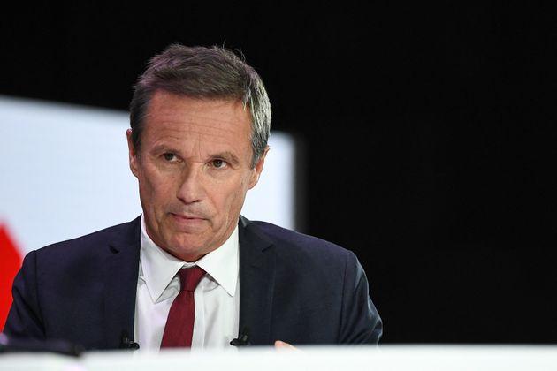 Le fondateur du parti Debout La France, Nicolas Dupont-Aignan. (Anne-Christine POUJOULAT /