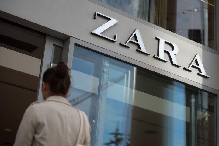 Tienda de Zara en Londres.