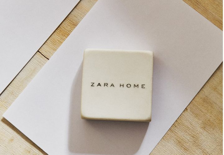 Goma de borrar de Zara Home.