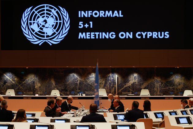 Κυπριακό: Νέα πενταμερή ανακοίνωσε ο Γκουτέρες, «δεν υπάρχει κοινό