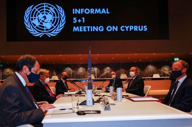 Τα παράδοξα της πενταμερούς, του ΟΗΕ και πως το ναυάγιο μπορεί να γίνει