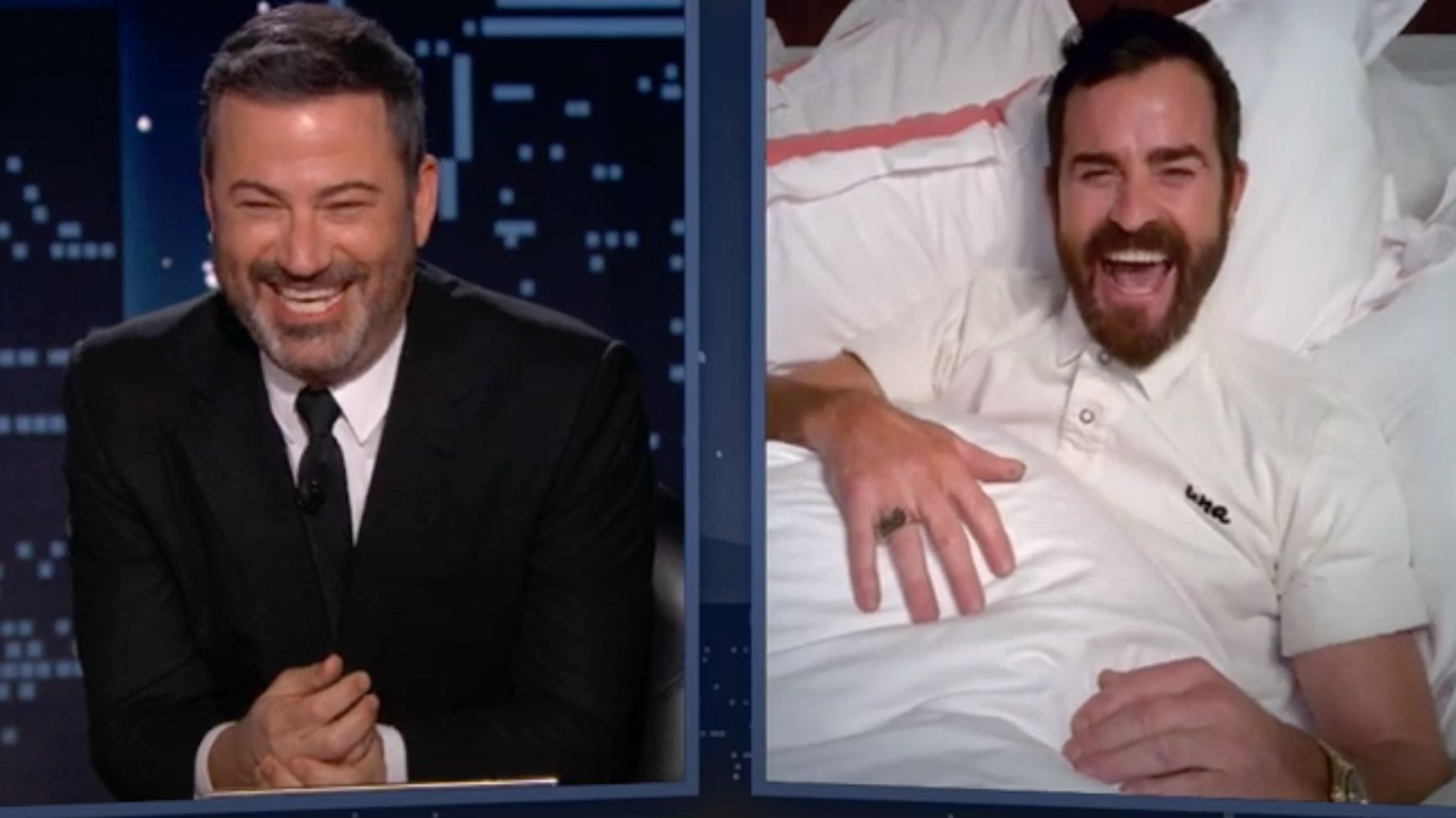 Justin Theroux Reveals The Prank He Pulled On Jimmy Kimmel Every Day For 5 Months