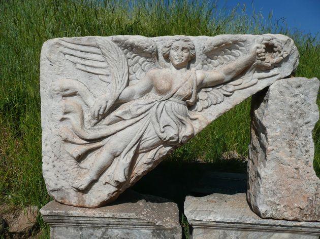 Η φτερωτη θέα Νίκη Αρχαία Εφεσος