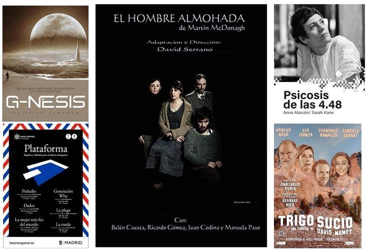 Obras de teatro recomendadas.