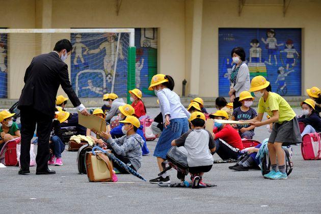 東京オリンピック・パラリンピックに関する都の計画では、小中学生ら約81万人が会場で観戦する予定だ(イメージ写真)