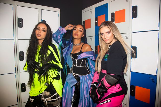 Little Mix as we're more used to seeing