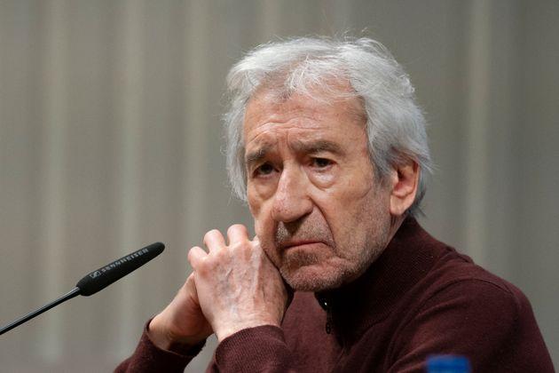 El actor José Sacristán, en una conferencia sobre Miguel Delibes en la Biblioteca Nacional en noviembre...
