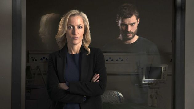 Gillian Anderson and Jamie