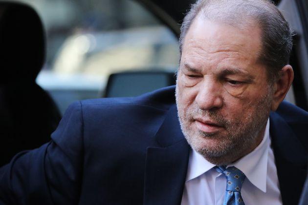 Harvey Weinstein en febrero de