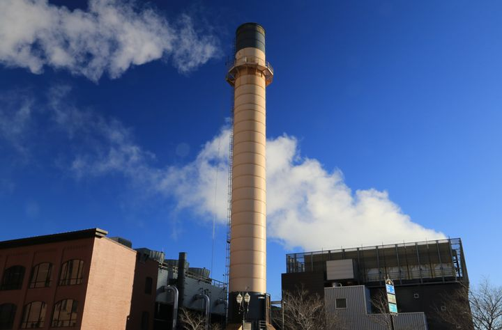 St. Paul Cogeneration facility is a combined heat and power plant that burns 280,000 tons of wood waste each year to create 2