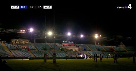 Le France / Angleterre de rugby féminin stoppé net par une
