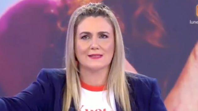 Carlota Corredera, presentadora de 'Sálvame' y de 'Rocío: contar la verdad para seguir viva'