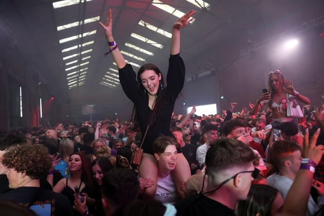 People enjoy their time at a nightclub, as part of a national research programme assessing the risk of...