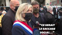Pour Marine Le Pen, la réélection d'Emmanuel Macron conduirait au
