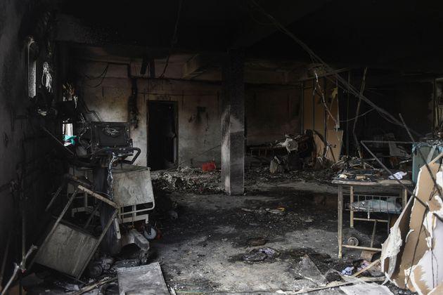 Ινδία: 18 νεκροί από φονική πυρκαγιά σε ΜΕΘ νοσοκομείου