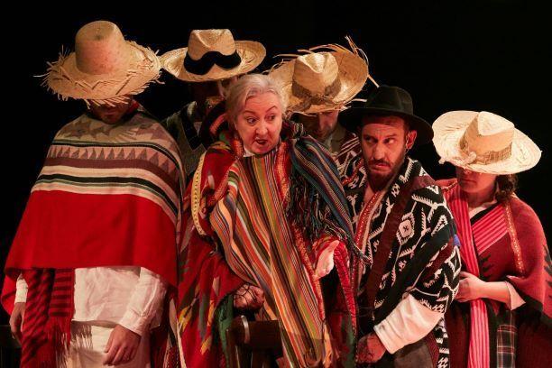 Una escena de 'La casa de los espíritus' en el Teatro Español.