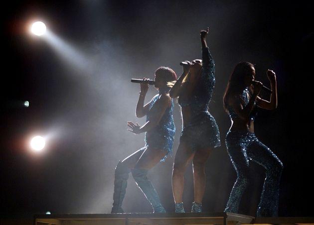 Les Destiny's Child lord de la cérémonie des Grammy Awards en mars 2021 à Los