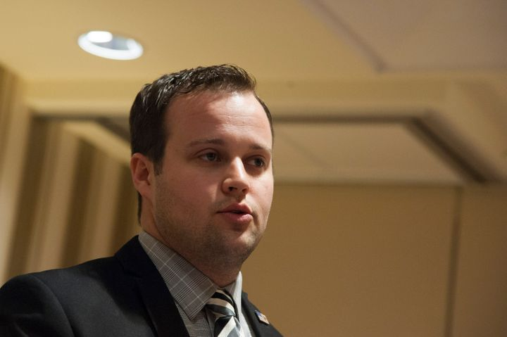 Josh Duggar speaks during the 42nd Annual Conference on Conservative Politics in February 2015 in National Harbor, Marelle