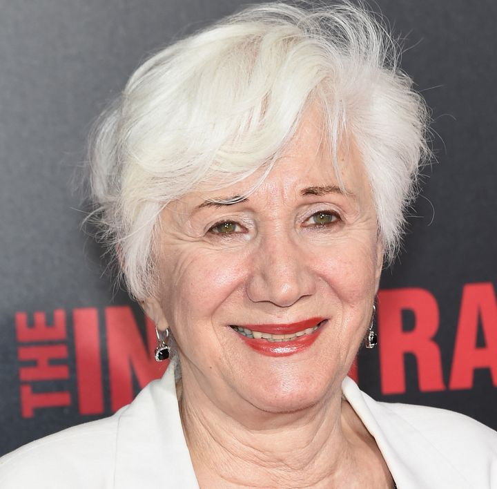 "Olympia Dukakis at the ""The Infiltrator"" New York premiere in July 2016 in New York City. (Photo by Jamie McCarthy/Getty Imag"