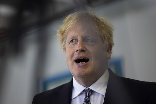 Prime Minister Boris Johnson answers questions from the