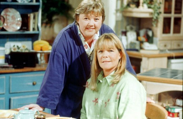 Pauline Quirke and Linda Robson in Birds of a Feather in