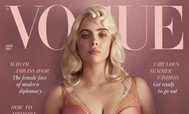 Vogueの表紙を飾ったビリー・アイリッシュ