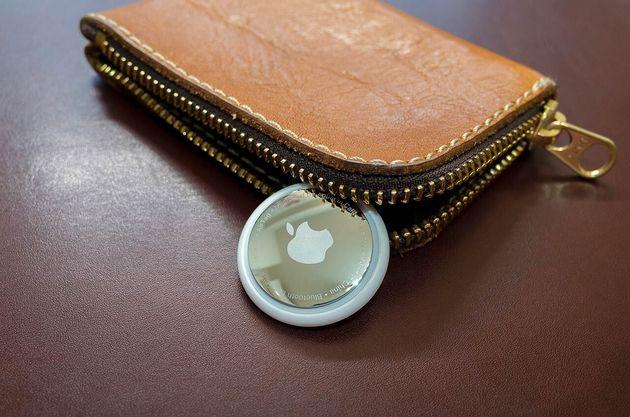 お財布とAirTag