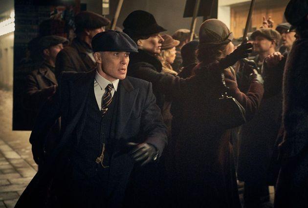 Le personnage Thomas Shelby (Cilian Murphy) dans la saison 5 de la série britannique.