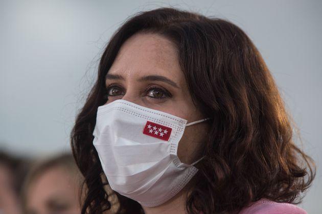 La presidenta madrileña, Isabel Díaz