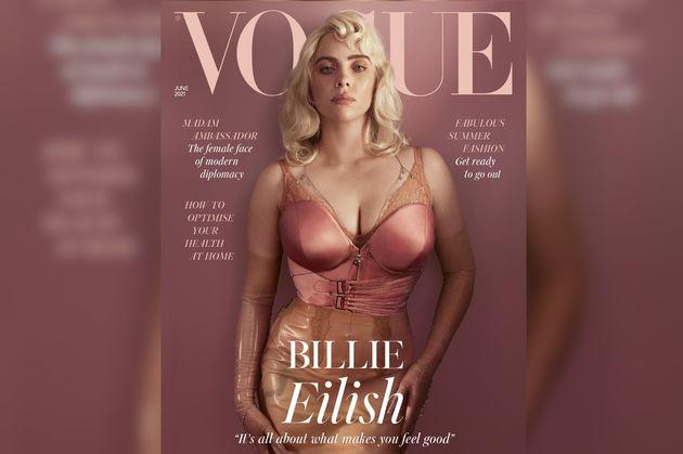 Billie Eilish troque ses baggies pour un tout nouveau look chez