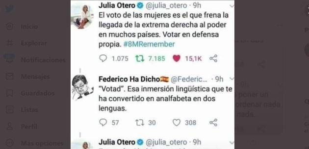La conversación de Julia Otero en