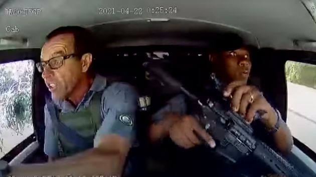 Deux convoyeurs de fonds attaqués à coups de feu par des assaillant, en Afrique du Sud, le 22 avril
