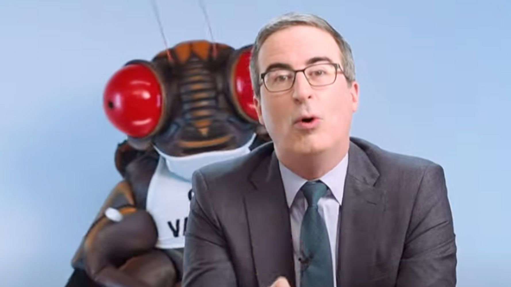 John Oliver Sharpens Vaccine Attack On Tucker Carlson And It's Beautiful