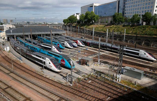 Comment la SNCF s'organise pour le déconfinement progressif (photo d'archive prise à l'entrepôt...
