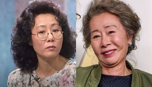 29년 전 토크쇼에서 조영남 관련 질문 받은 윤여정(왼쪽), 최근 오스카 수상한
