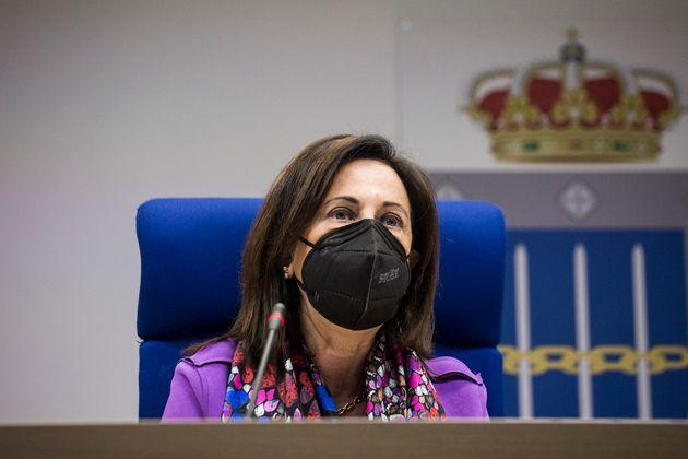 La ministra de Defensa, Margarita