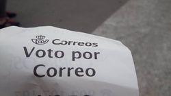 El voto por correo aumenta un 41% en Madrid respecto a